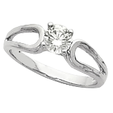 Diamond Solitaire Engagement Ring Collection