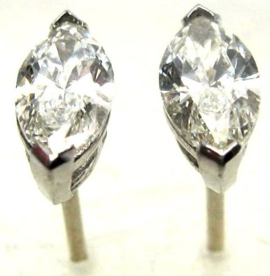 si p stud diamond htm white earrings our ct radiant k color gold