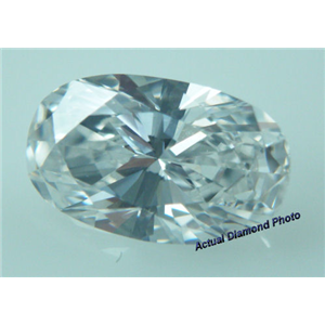 Oval Cut Loose Diamond (1.02 Ct, D(HPHT Color Treated) ,VVS1) GIA Certified