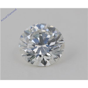 Round Cut Loose Diamond (1.01 Ct, G Color, VS2(Clarity Enhanced) Clarity) EGL Certified