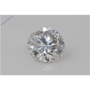 Round Cut Loose Diamond (1.03 Ct, H Color, VS2(Clarity Enhanced) Clarity) EGL Certified