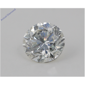 Round Cut Loose Diamond (1.03 Ct, I Color, VS2(Clarity Enhanced) Clarity) EGL Certified