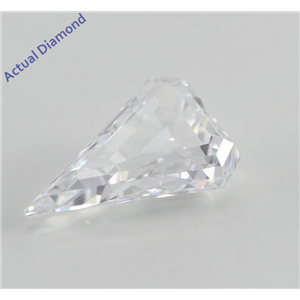 Shield Cut Loose Diamond (1.73 Ct, D, VVS2) GIA Certified