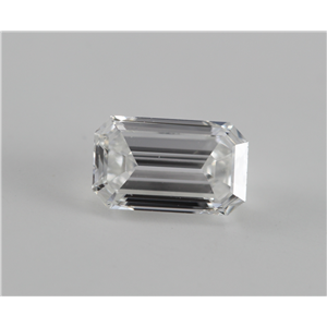Emerald Cut Loose Diamond (0.74 Ct, f, VS1) WGI Certified