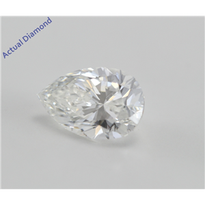 Pear Cut Loose Diamond (1 Ct, f, VVS2) WGI Certified