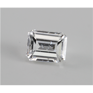 Emerald Cut Loose Diamond (0.84 Ct, F, SI2) IGL Certified