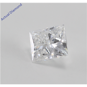 Princess Cut Loose Diamond (0.5 Ct, G, VVS2)