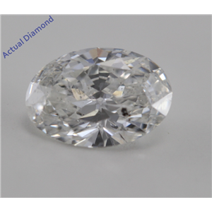Oval Cut Loose Diamond (0.7 Ct, G, SI2)