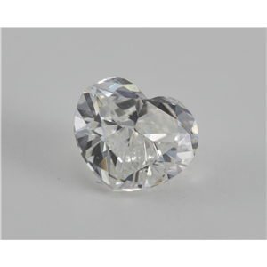 Heart Cut Loose Diamond (1.01 Ct, H, SI1(Laser Drilled))