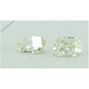 A Pair of Oval Millennial Sunrise (Limited Edition) Cut Loose Diamonds (1.15 Ct, J-k Color, VS Clarity)