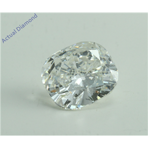 Cushion Cut Loose Diamond (2.11 Ct, H Color, VS1 Clarity) GIA Certified