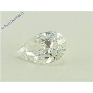 Pear Cut Loose Diamond (1.04 Ct, G Color, SI2 Clarity)