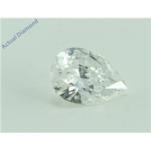 Pear Cut Loose Diamond (1 Ct, G Color, SI2 Clarity) GIA Certified