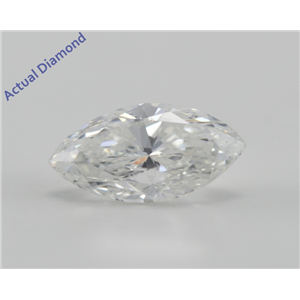 Marquise Cut Loose Diamond (1 Ct, D, VS1) IGL Certified