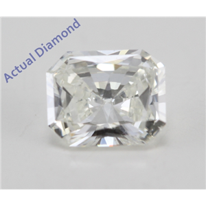 Radiant Cut Loose Diamond (0.38 Ct, J Color, VVS2 Clarity)