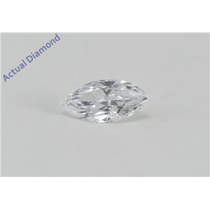 Marquise Cut Loose Diamond (0.22 Ct, D Color, VVS1 Clarity) IGL Certified