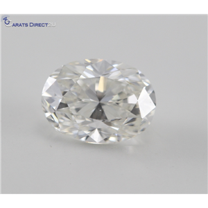 Oval Cut Loose Diamond (1 Ct, H Color, VVS2 Clarity) GIA Certified