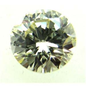 Round Cut Loose Diamond (1.06 Ct, LIGHT BROWN Color ,VS Clarity)