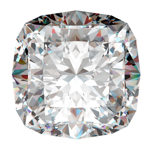 Cushion Cut Loose Diamond (0.67 Ct, J ,I1)