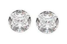 Pair of Loose Round Cut Diamonds