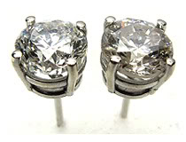 View our large collection of Diamond Stud Earrings
