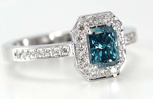 Blue Color Enhanced Diamonds Allow Everyone To Wear A Piece Of The Sky