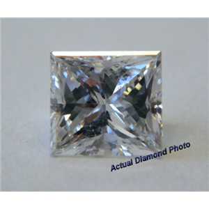 Princess Cut Loose Diamond (0.85 Ct, E ,SI1(Clarity Enhanced)) EGL Certified
