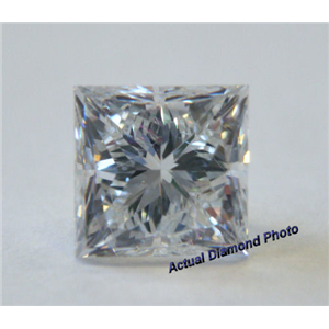 Princess Cut Loose Diamond (1.01 Ct, G ,SI1(Clarity Enhanced)) EGL Certified