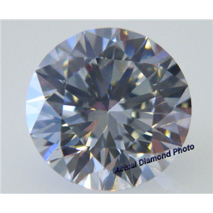 Round Cut Loose Diamond (1.06 Ct, D(HPHT Color Treated) ,VVS1) GIA Certified