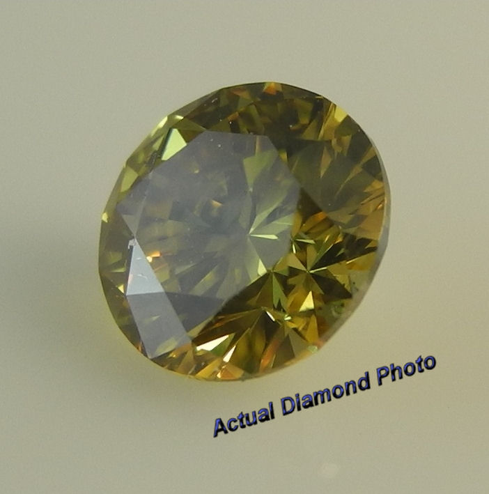 clarity certified shape diamond fancy cushion carat brownish gia yellow