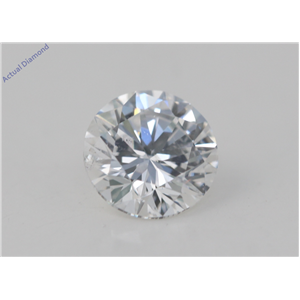 Round Cut Loose Diamond (1.05 Ct, D Color, VS2(Clarity Enhanced) Clarity) EGL Certified
