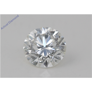 Round Cut Loose Diamond (1.57 Ct, F Color, VS2(Clarity Enhanced) Clarity) EGL Certified