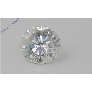 Round Cut Loose Diamond (3.44 Ct, H Color, SI2(Clarity Enhanced) Clarity) EGL Certified