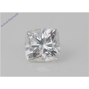 Cushion Cut Loose Diamond (1.5 Ct, G Color, VS2(Clarity Enhanced) Clarity) EGL Certified