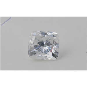 Cushion Cut Loose Diamond (1.51 Ct, F Color, VS1(Clarity Enhanced) Clarity) EGL Certified