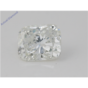 Cushion Cut Loose Diamond (1.76 Ct, G Color, VS1(Clarity Enhanced) Clarity) EGL Certified