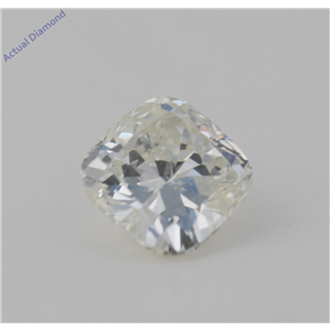 Cushion Cut Loose Diamond (2.67 Ct, G Color, VS2(Clarity Enhanced&laser Drilled) Clarity) EGL Certified