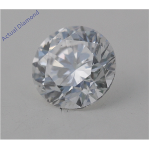 Round Cut Loose Diamond (1.04 Ct, D Color, VS2(Clarity Enhanced&laser Drilled) Clarity) EGL Certified