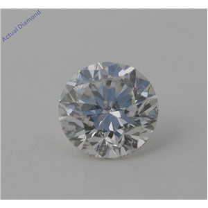 Round Cut Loose Diamond (1.39 Ct, G Color, SI1(Clarity Enhanced&laser Drilled) Clarity) EGL Certified