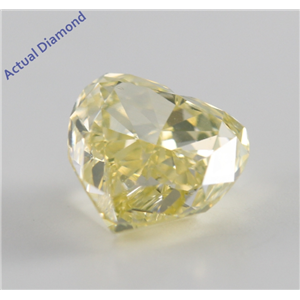 Heart Cut Loose Diamond (1.54 Ct, Natural Fancy Yellow, SI1) GIA Certified