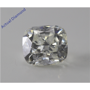 Cushion Cut Loose Diamond (1 Ct, K, VS2) GIA Certified