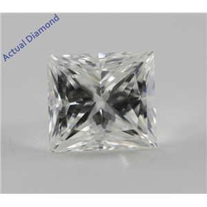 Princess Cut Loose Diamond (1.01 Ct, I, VS1) GIA Certified