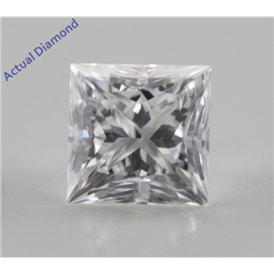 Princess Cut Loose Diamond (1.02 Ct, G, VS1) GIA Certified
