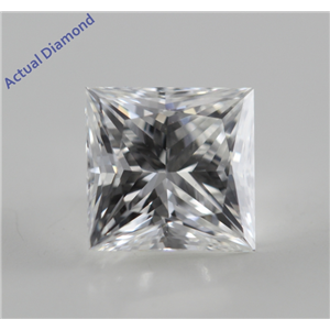 Princess Cut Loose Diamond (1.03 Ct, F, VVS1) GIA Certified