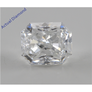 Radiant Cut Loose Diamond (1.02 Ct, E, VS1) GIA Certified