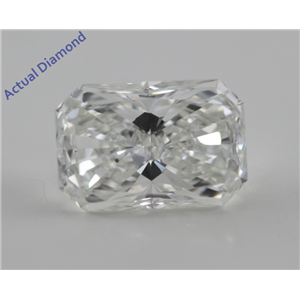 Radiant Cut Loose Diamond (1.63 Ct, I, VVS1) GIA Certified