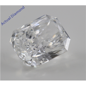 Radiant Cut Loose Diamond (1.64 Ct, F, VVS2) GIA Certified