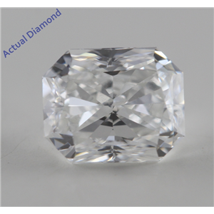 Radiant Cut Loose Diamond (0.7 Ct, F, VS2) GIA Certified
