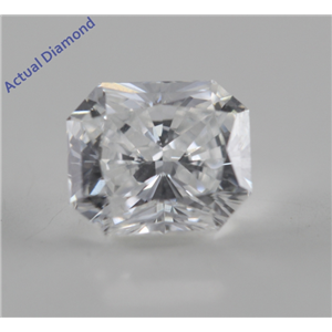 Radiant Cut Loose Diamond (0.73 Ct, F, VS1) GIA Certified