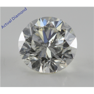 Round Cut Loose Diamond (1.01 Ct, H, SI2) IGL Certified